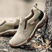 春夏季鞋子男休閒鞋牛筋底男士戶外鞋 登山鞋青年防滑徒步運動鞋 小確幸生活館