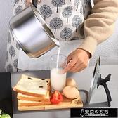 不黏鍋 304不銹鋼小奶鍋不黏鍋煮熱牛奶鍋小鍋迷你小蒸鍋嬰兒【快速出貨】