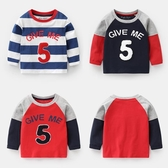 男童長袖T恤新品上市秋裝春秋新款童裝兒童小童寶寶打底衫上衣U11000
