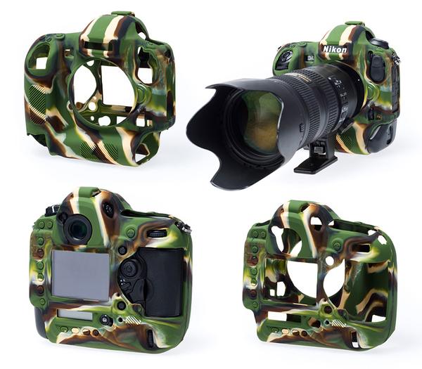 【聖影數位】 easyCover 金鐘套 Nikon D750 適用 果凍 矽膠 保護 防塵套(迷彩) 公司貨 免運