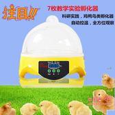 孵蛋器 小型孵化器全自動微型智慧孵蛋器鴿子雞鴨鵝家禽科普家用型孵化箱T