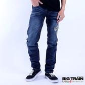 Big Train 祥龍小直筒褲-男-可-深藍-ZM700878