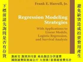 二手書博民逛書店Regression罕見Modeling StrategiesY