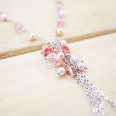 ~粉紅堂飾品~溫柔時光串珠項鍊