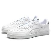 ASICS TIGER 全白 白黑 皮革 休閒鞋 情侶鞋 男女 (布魯克林) 1183A427100