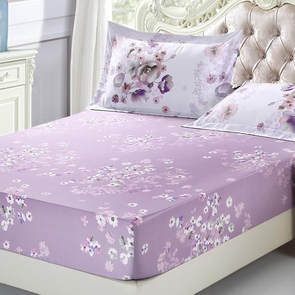 天絲 雙人加大床包枕套三件組 薔薇之戀
