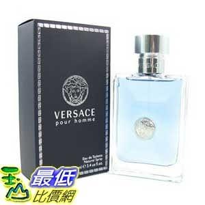 [104美國直購] Versace Pour Homme B001HTTBWQ 男士淡香水 By Versace 3.4 Ounce $2018