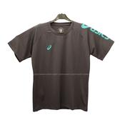 (B3) ASICS 亞瑟士 運動上衣 短袖T恤 台灣製 吸濕快乾 K12047-90 深灰 [陽光樂活]