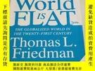 二手書博民逛書店The罕見World Is Flat【英文原版】Y407940