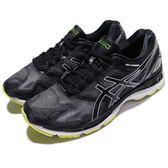 【六折特賣】Asics 慢跑鞋 Gel-Nimbus 19 黑 綠 白底 路跑 舒適緩震 運動鞋 男鞋【PUMP306】 T700N9096
