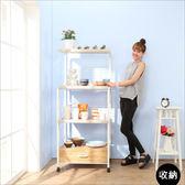電器櫃 廚房櫃 北歐多功能附插座廚房電器架 收納架 微波爐架 櫥櫃 碗盤櫃 I-EB-SH042 誠田物集