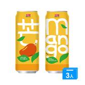 紅牌芒果綜合果汁飲料490ML*3【愛買】