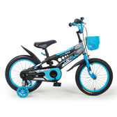 寶貝樂精選 精靈寶貝16吋腳踏車-藍黑(BTSX1601B)