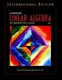 二手書博民逛書店 《Introductory Linear Algebra: An Applied First Course》 R2Y ISBN:0131277731│Prentice Hall