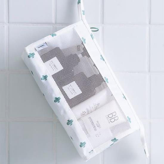 簡約印花懸掛洗漱包 290D 收納 分裝 出國 整理袋 多功能 分隔 便攜 分類 【E98】♚MY COLOR♚