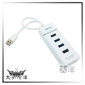 ◤大洋國際電子◢ A-GOOD USB3.0 4Port 集線器 F-FF113 指示燈 熱插拔 30公分