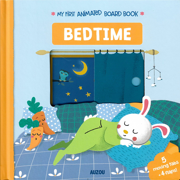 My First Animated Board Book:Bedtime 我的第一本推拉小書:上床睡覺篇