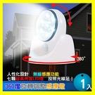 自動感應!360度旋轉調整感應燈 1入 LED燈超省電 抬燈/照明燈-賣點購物※18