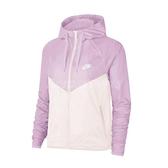 Nike 外套 NSW Windrunner Jacket 粉 米 女款 風衣外套 飛行者 運動休閒 【ACS】 BV3940-676