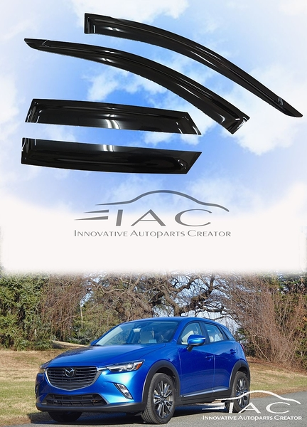 Mazda CX-3 15-18 台製晴雨窗 【IAC車業】