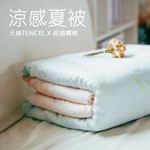涼被【寧靜湖水】;6X7尺;天絲;磨毛LAMINA台灣製