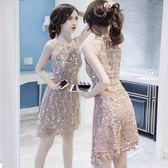 [618好康又一發]性感女裝韓版氣質吊帶包臀裙連衣裙