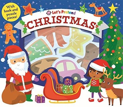 【拼圖遊戲盒】LETS PRETEND:  CHRISTMAS  (主題:聖誕節)