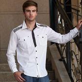 *86精品*上衣 潮流 新款  白色條紋 襯衫 流行款【86423-10】