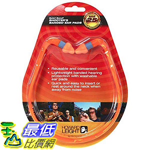[8美國直購] 耳塞Howard Leight by Honeywell Quiet Band Shooting Earplugs, 1-Pair (R-01538)