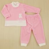 【愛的世界】剪絨長袖套裝/6個月~2歲-台灣製- ★秋冬套裝