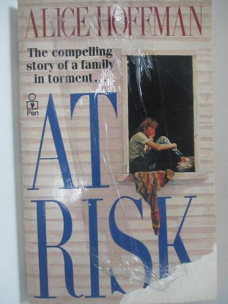 【書寶二手書T4/原文小說_AUC】At Risk_Alice Hoffman