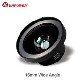 【EC數位】SUNPOWER ULTRA HD 16mm 超廣角微距 | 手機專業鏡頭 4K超高清 零變形