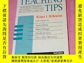 二手書博民逛書店Teaching罕見TipsY255562 Mckeachie D C Heath & Co 出版1