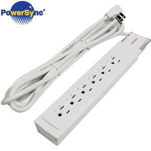 PowerSync群加 MX3防雷擊突波3插6座電源延長線 2.7M PWS-KLX1627