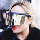 太陽鏡女款一體式面罩防曬防紫外線 全館免運