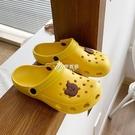 洞洞鞋 洞洞鞋女ins潮可愛護士涼鞋外穿韓版包頭防滑軟底透氣上班不臭腳
