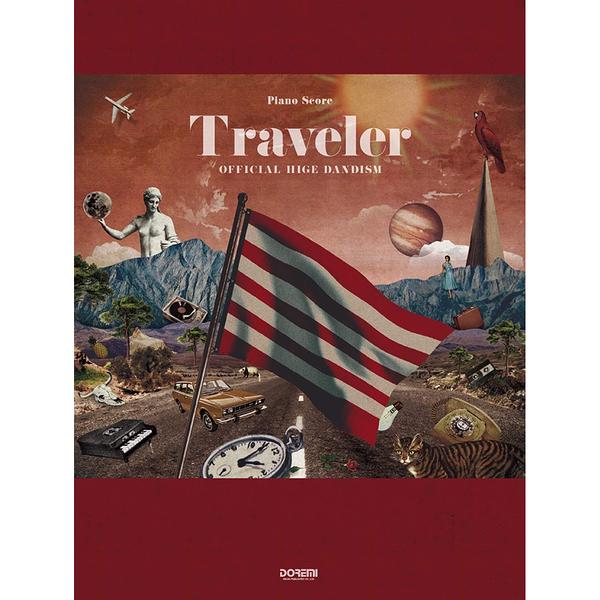 小叮噹的店 149753 鋼琴譜 Official髭男dism Traveler