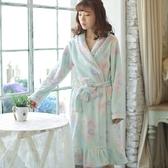 睡衣-珊瑚絨冬季加厚保暖柔軟女居家服2色73ok43[時尚巴黎]