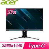 【南紡購物中心】ACER 宏碁 XB273U GX 27型 240hz 2K電競螢幕