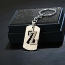 鑰匙圈 英文字母 不鏽鋼 鑰匙圈 304...