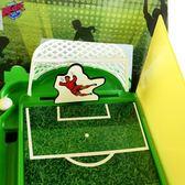 雙人手指彈射電動足球場迷你桌面龍門球類彈珠游戲機親子玩具對戰ZMD 免運快速出貨