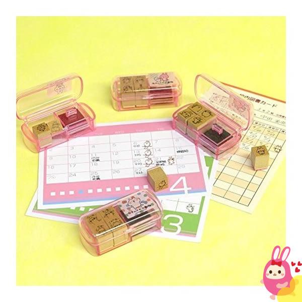 Hamee 日本 Kanahei 卡娜赫拉 迷你造型收納盒 印章印泥組合 兔子 兔兔 126386
