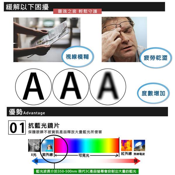 MIT抗藍光老花眼鏡 時尚霧黑 經檢驗合格 高硬度耐磨鏡片 配戴不暈眩