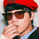 GUCCI 太陽眼鏡 GG0603S (玳瑁-金) EXO Kai 廣告款 日本製 復古 眉框 墨鏡 久必大眼鏡