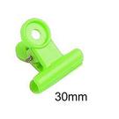 【奇奇文具】力大ABEL 05115 彩色 塑膠夾30mm (25支/桶)