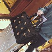 短途旅行包女手提行李包韓版大容量牛津布旅行袋輕便防水健身包潮igo   歐韓流行館