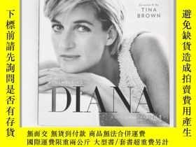 二手書博民逛書店銘記戴安娜王妃罕見英文原版 Remembering Diana Tina Brown National Geogr