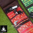 丹大戶外【KAZMI】經典民族風營釘收納袋(紅色) K5T3B005RD