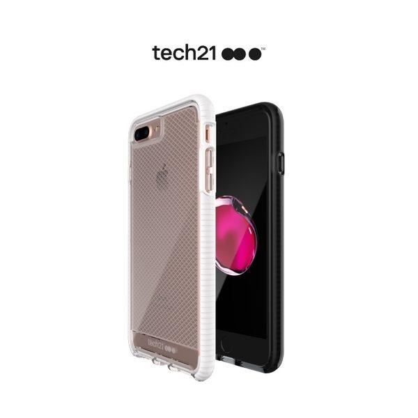 Tech21 英國超衝擊 Evo Check iPhone 7 Plus 5.5吋 防撞軟質格紋保護殼 iphone7plus手機殼