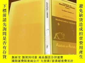二手書博民逛書店Lectures罕見on Minimal Submanifolds .Y171500 看圖 看圖